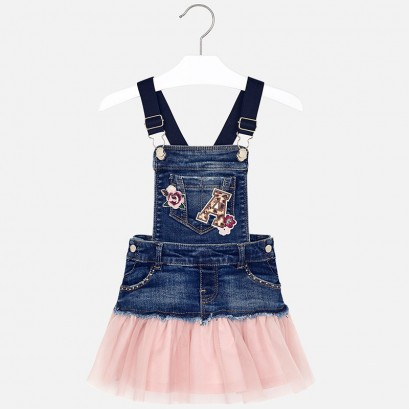 Kid's tunic with tulle Mayoral
