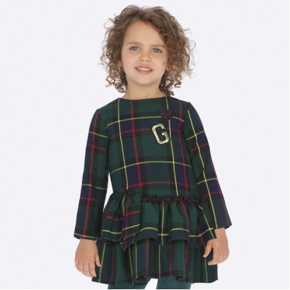 Checked kid's dress Mayoral G