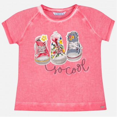Girl 'So cool' t-shirt Mayoral