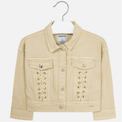 Girls Washed Effect Jacket Mayoral