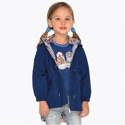 Girls Reversible Windbreaker Jacket Mayoral