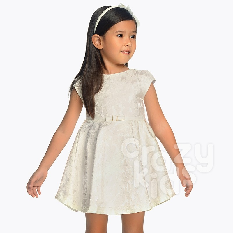 Kids Jacquard Dress Mayoral
