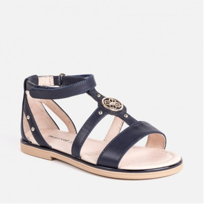 Girls Medal Sandals Mayoral