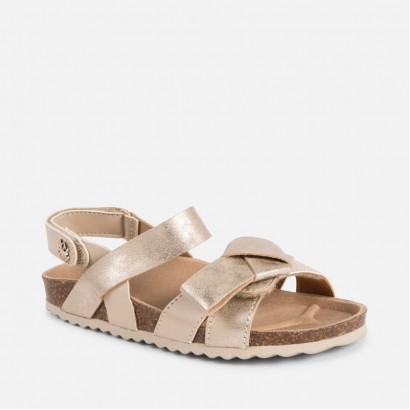 Girls Strappy Cork sandals Mayoral