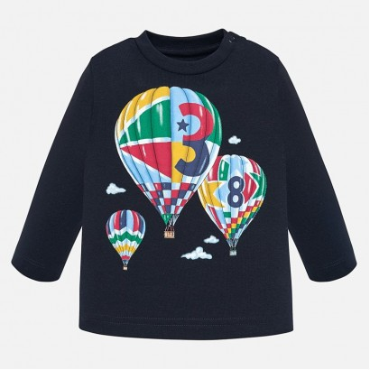 Baby blouse with balloons Mayoral