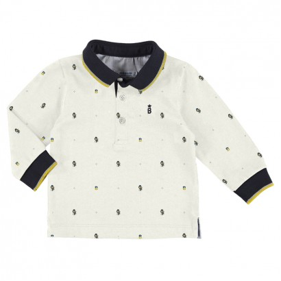 Baby Printed Polo Shirt Mayoral