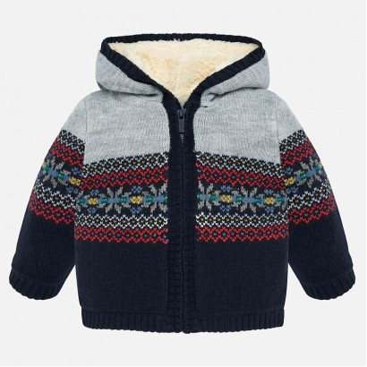 Baby hooded cardigan Mayoral