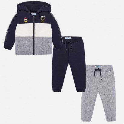 Baby sport set with hood Mayoral