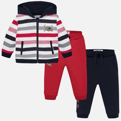 Baby striped sport set Mayoral