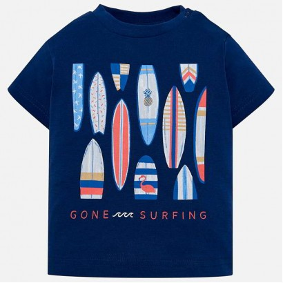 Baby Boys Surfing T-shirt Mayoral