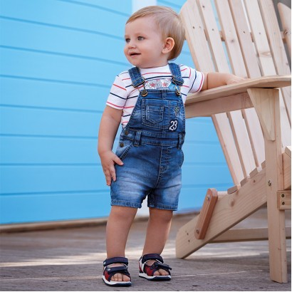 Baby Denim Dungaree Mayoral