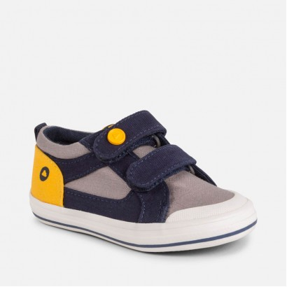 Kids Canvas Velcro Trainers Mayoral