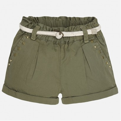 Children's shorts Mayoral with a belt for girl