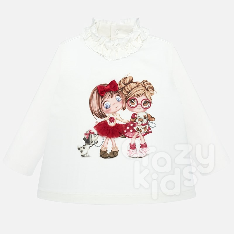 Baby blouse with polo neck Mayoral.