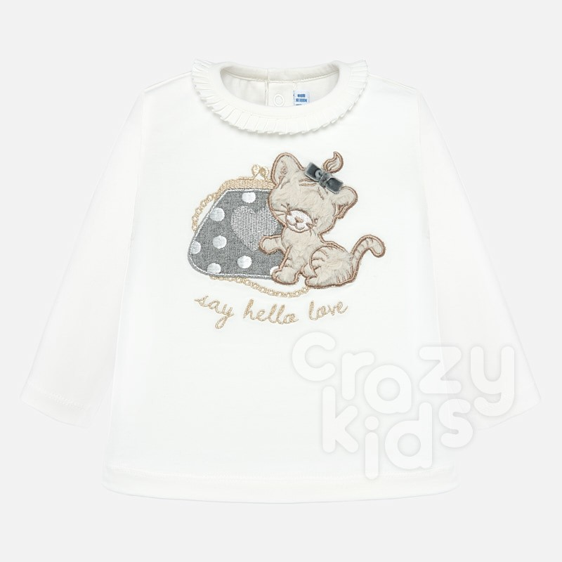 Baby long-sleeve blouse Mayoral