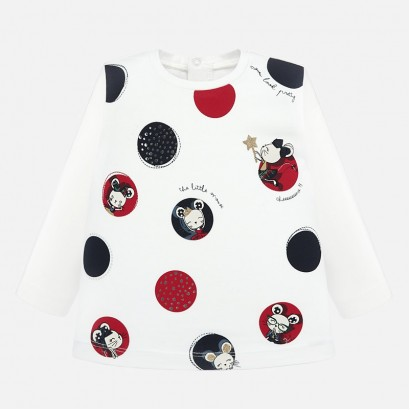 Baby blouse Mayoral with big dots