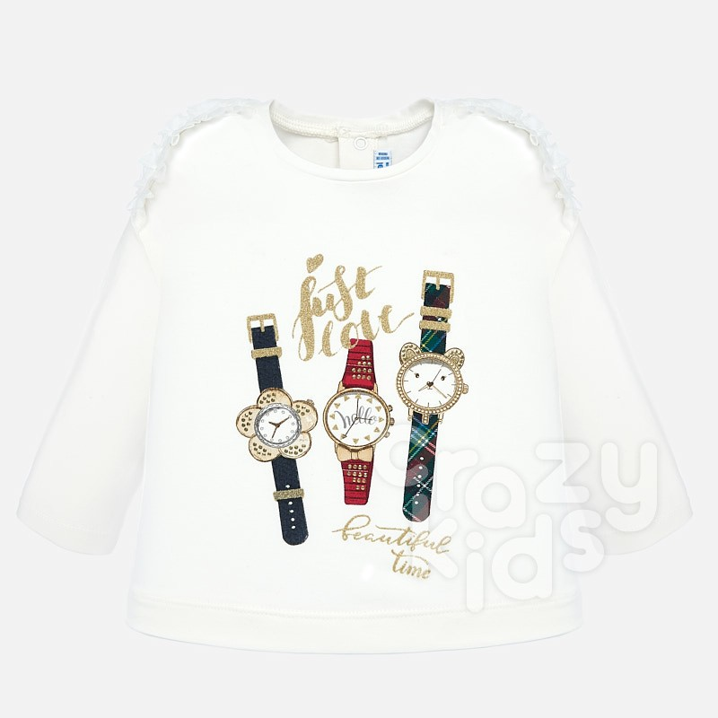 Baby blouse with clocks Mayoral