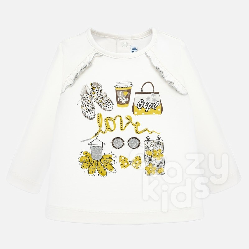 Baby blouse Mayoral Love