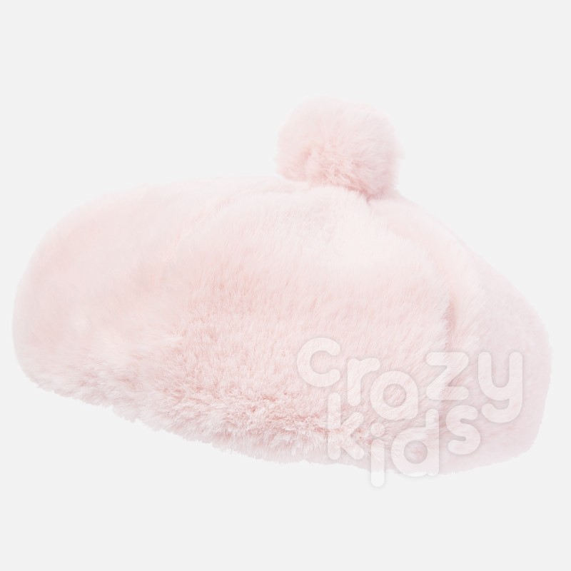 Fluffy kid's hat Mayoral