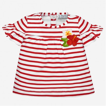 Baby Girl Bell Sleeves T-shirt Mayoral