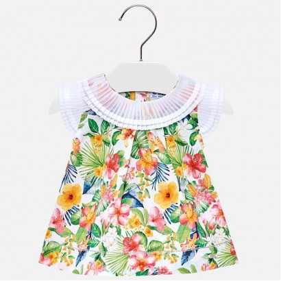 Baby Pleated Blouse Mayoral