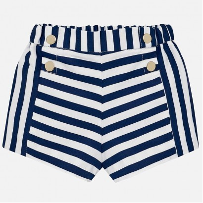 Baby Striped Shorts Mayoral