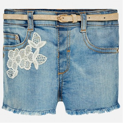 Baby Girls Jeans Shorts Mayoral