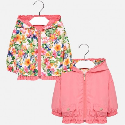 Baby Girls Reversible Windbreaker Mayoral