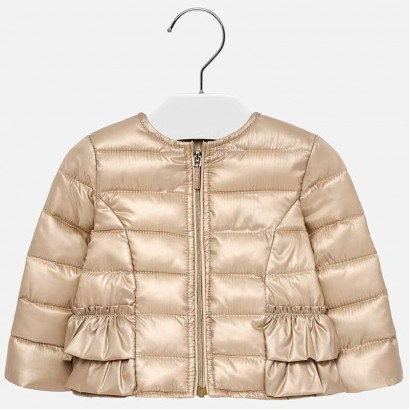 Baby Girls Ruffled Jacket Mayoral