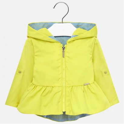 Baby Girl Hooded Jacket Mayoral