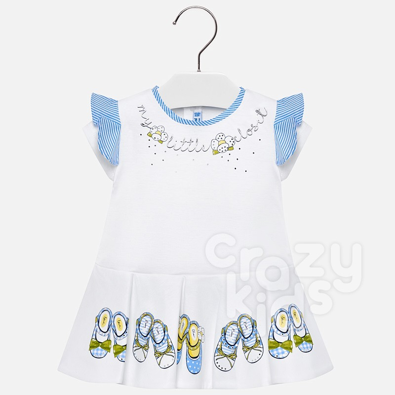 Baby Detailed Dress Mayoral