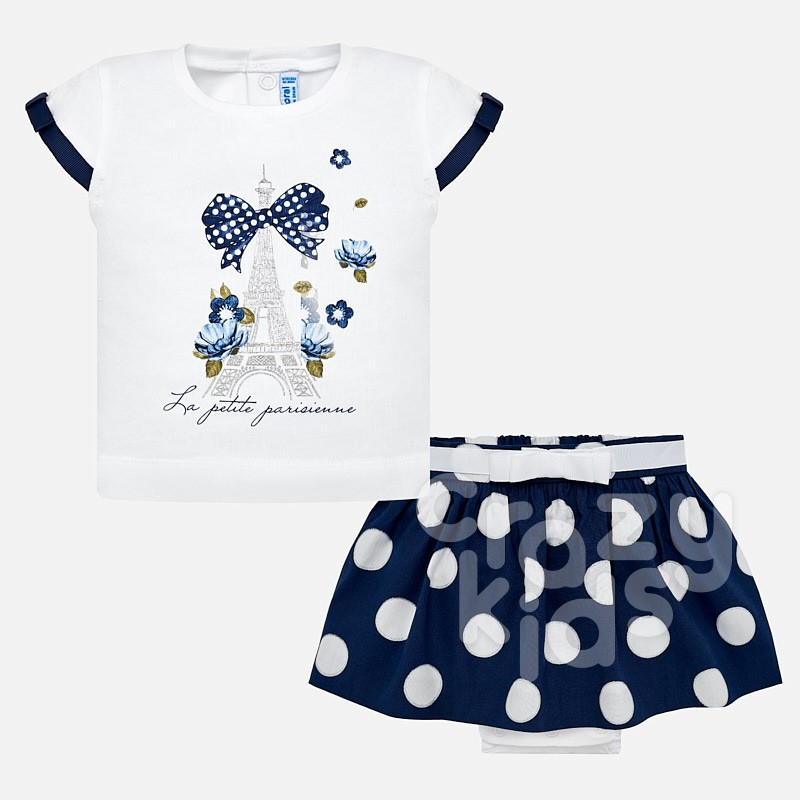 Baby Top and Skirt Set Mayoral