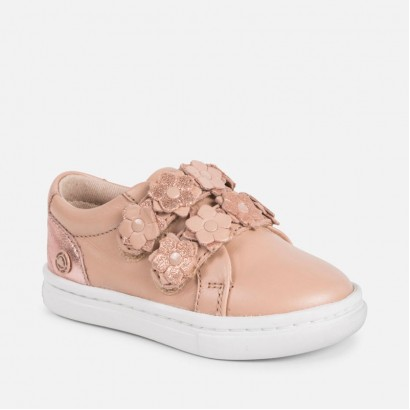 Girls Flower Detail Trainers Mayoral