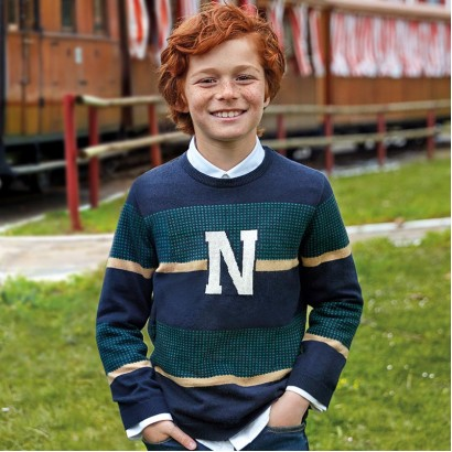 Kid's striped pullover Mayoral