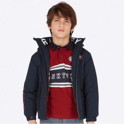 Boys' jacket with emblem Mayoral