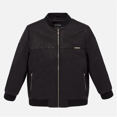 Boy's leather jacket Mayoral