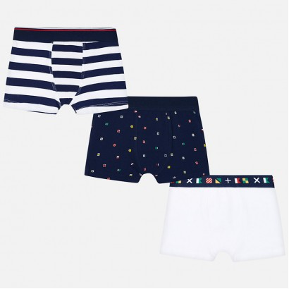 Boys Set of three Boxer Shorts Mayoral