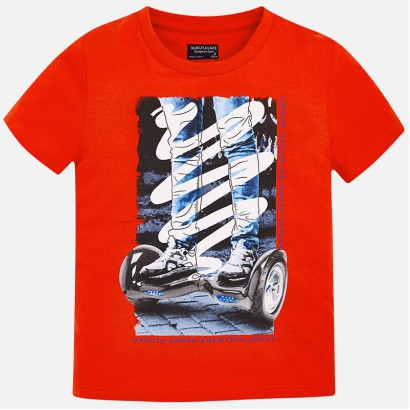 Boys Hoverboard T-shirt Mayoral