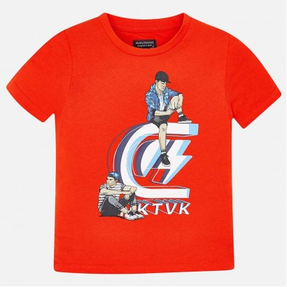 Kids Tennis T-shirt for Boys Mayoral