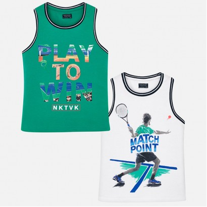Kids Set of 2 Vest Tops Mayoral