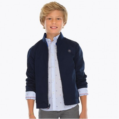 Boys Reversible Windbreaker Dockside Mayoral