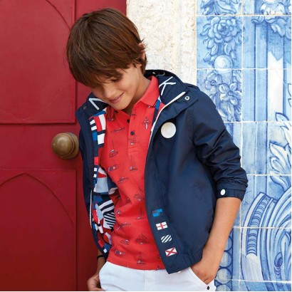 Boys Flag Jacket Mayoral