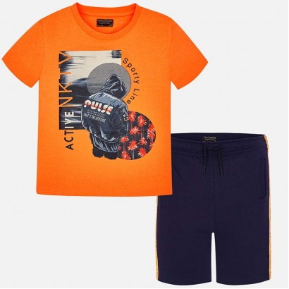 Boys Shorts and T-shirt Set Mayoral