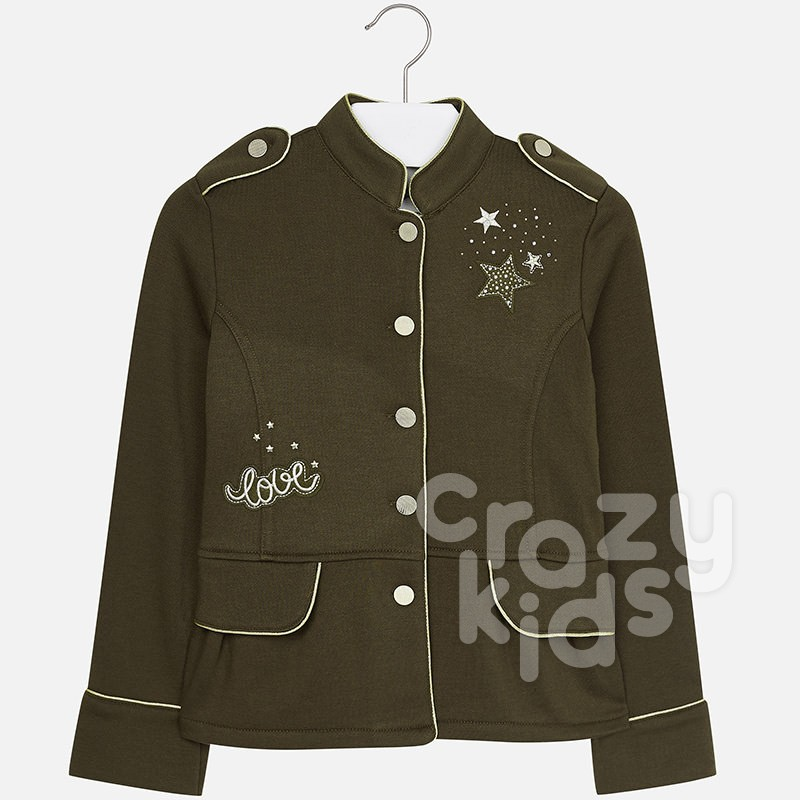 Children's military style jacket Mayoral