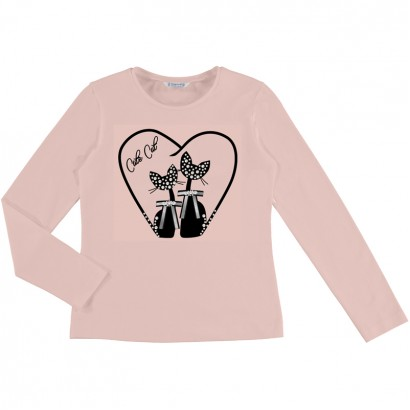 Kid's blouse with cats Mayoral