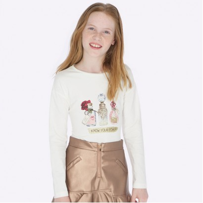 Kid's long-sleeve blouse Mayoral