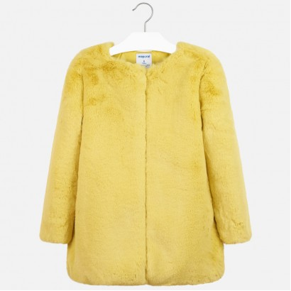 Fluffy kid's coat Mayoral