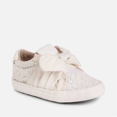 Girls Jeans Knit Trainers Mayoral