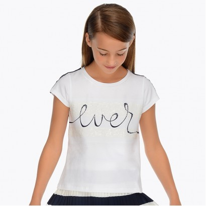 Girls ''Ever'' T-shirt Mayoral