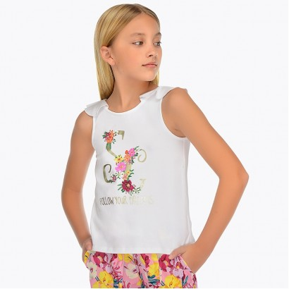 Girls Vest Top Mayoral
